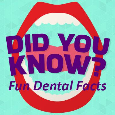 Fun Facts about Teeth and Dentistry